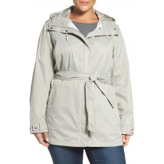 Columbia Pardon My Trench Water Resistant Trench Coat (Plus Size)